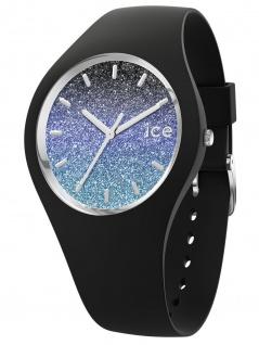 Ice-Watch 016903 Ice-Lo Milky Way Uhr Damenuhr Kautschuk Schwarz
