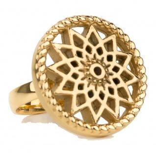Traumfänger Damen Ring Stern gold 54 (17.2)