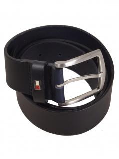 Tommy Hilfiger Herren Gürtel New Denton Belt 105cm Blau E367836162-403