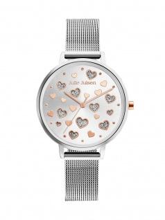 Julie Julsen JJW60SME Uhr Damenuhr Edelstahl Silber