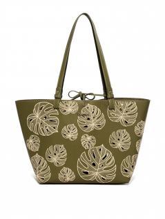 Desigual Damen Handtasche Tasche Shopper ATTALEA CAPRI Grün