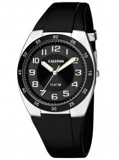 Calypso K5753/6 Uhr Herrenuhr Kautschuk schwarz