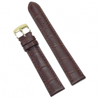 Condor Uhrenband 19183-18-20 Ersatzarmband 18 mm Louisiana braun