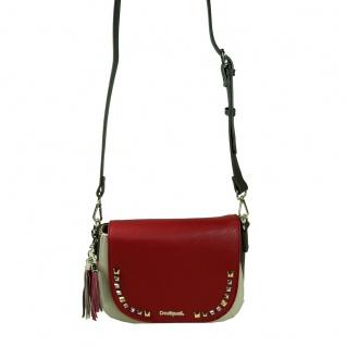 Desigual Bols Hamar Tricolor Rot Gelb 17WAXPYD-3000 Handtasche Tasche