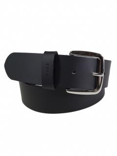 Esprit Damen Gürtel Jeansgürtel New basic belt Leder 80cm Schwarz