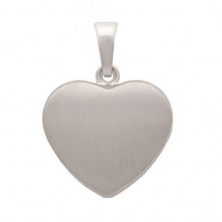 Basic Silber SH20 Damen Anhänger Herz Silber
