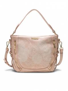 Desigual Damen Handtasche Tasche Henkeltasche ZOE MARTETA MINI Rosa