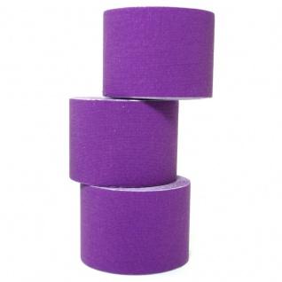 1 Rolle Kinesiologie Tape 5 m x 5, 0 cm lila