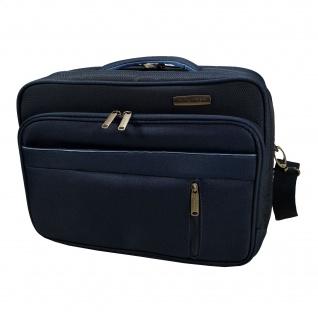Travelite Capri Bordtasche quer 20 L Blau Damen Handgepäck 89804-20
