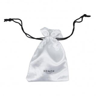 XENOX XS2782 Damen Armband Herz Love Story Silber weiß 20 cm - Vorschau 5