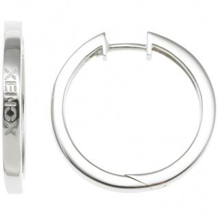 XENOX XS8544 Damen Creolen Modern Classic Silber