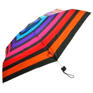 Flash Ultra Mini Flash printed mulitcolor stripe Regenschirm - Vorschau 2