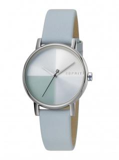 Esprit ES1L075L0015 Levels Uhr Damenuhr Lederarmband Blau