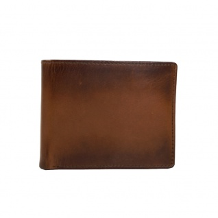 Fossil Geldbörse Paul RFID Large Pocket Braun Herren Leder Börse
