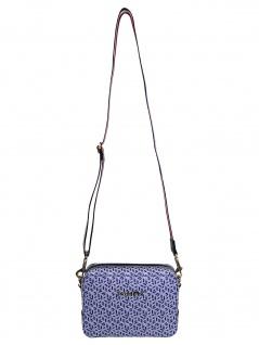 Tommy Hilfiger Damen Handtasche Tasche Iconic Tommy Camera Bag Blau
