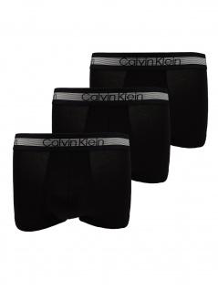 Calvin Klein Herren Boxershort 3er Pack Trunk XL Schwarz NB1799A-001