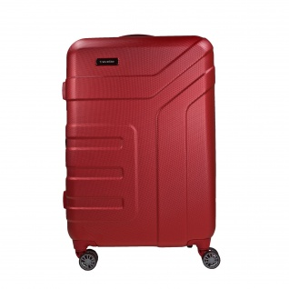 Travelite Vector 4 Rollen Rot 77 cm Trolley 103 L Koffer 72049-88