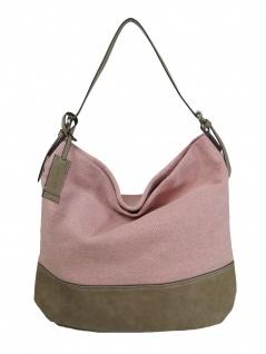 Esprit Damen Handtasche Tasche Phyllis Hobo Rosa 998EA1O802-E690