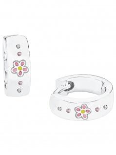 Prinzessin Lillifee 2027909 Mädchen Creolen Blume Silber bunt