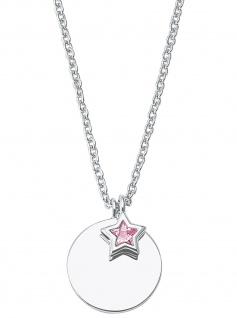 Prinzessin Lillifee 2027225 Mädchen Collier Stern 925 Silber rosa 38cm