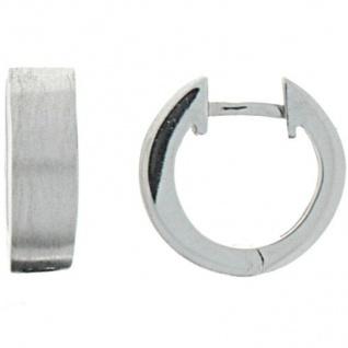 XENOX XS8530 Damen Creolen Modern Classic Silber