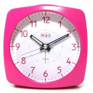 W&S Wecker 201351-pink leise Sekunde