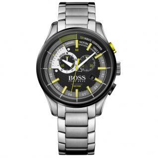 Hugo Boss 1513336 Yachting Timer Chronograph Uhr Herrenuhr silber