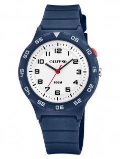 Calypso K5797/3 Uhr Junge Kinderuhr Kunststoff blau