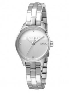 Esprit ES1L054M0055 Essential Glam Uhr Damenuhr Edelstahl Silber