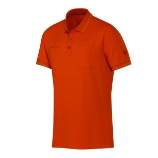 Mammut Herren Polo Shirt Kurzarm Michener Polo Shirt Men Orange Gr. S