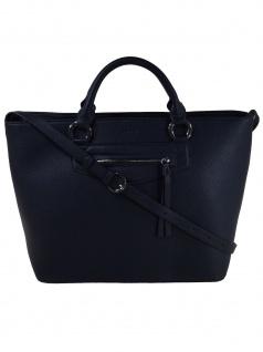 Esprit Damen Handtasche Tasche Henkeltasche Kerry Shopper Blau