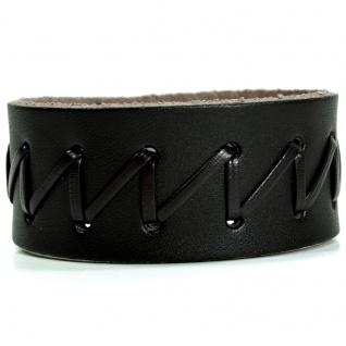 CJBB1922 Herren Armband Leder braun 20 cm