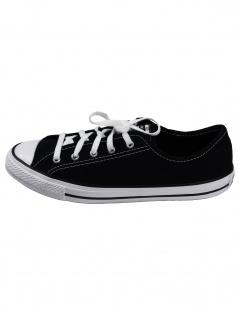 Converse Damen Schuhe CTAS Dainty Ox Schwarz Leinen Sneakers 37 EU