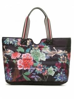 Desigual Damen Handtasche Tasche Kurosawa Altea Mini Rev Schwarz