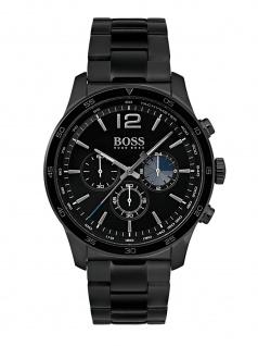 Hugo Boss 1513528 THEPR Chronograph Uhr Herrenuhr Edelstahl Schwarz
