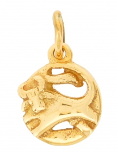 Gerry Eder 24.9020ST Anhänger Stier 14 Karat (585) Gelbgold Gold