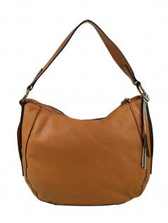 Esprit Damen Handtasche Tasche Henkeltasche Kiki Hobo Bag Braun