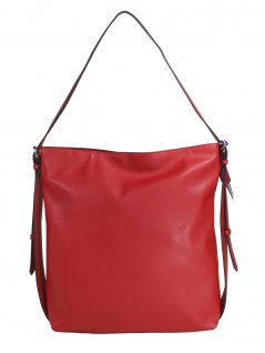 Esprit Damen Handtasche Tasche Henkeltasche Liz hobo Rot