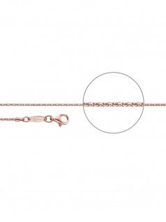 Der Kettenmacher C1-42R Koreaner Kette Rose vergoldet 42 cm - Vorschau