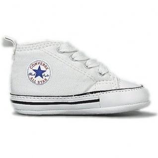 Converse Baby Schuhe First Star Weiß 88877 Größe 17