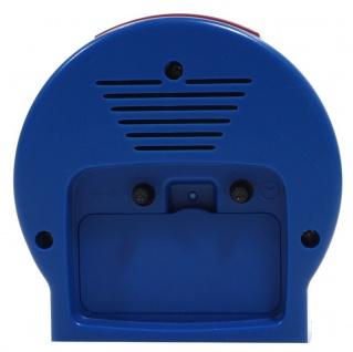 Atlanta 1189-5 Wecker Pferde Analog Alarm weiss blau rot - Vorschau 2