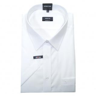 Eterna Herrenhemd Kurzarm 1100/00/K198 Comfort Fit Weiß Gr. XXXL/47