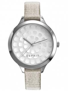 Esprit ES109582004 ESPRIT-TP10958 GREY Uhr Damenuhr Lederarmband Beige