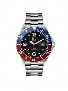 Ice-Watch 016545 ICE Steel United Silver M Uhr Herrenuhr Datum Silber