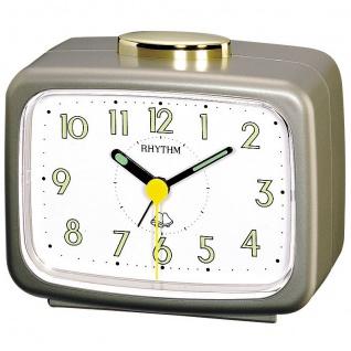 RHYTHM 4RA456WR18 Wecker Glockenwecker Alarm gold