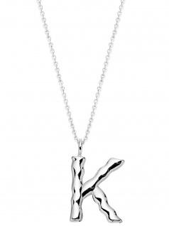 XENOX XS4000/K Damen Collier Buchstabe K Silber 925 Silber 50 cm
