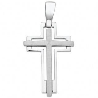Basic Silber SKE26 Kinderschmuck Anhänger Kinder Kreuz Silber