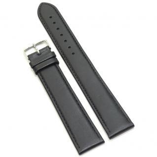 Condor Uhrenband 138604-20-10 Ersatzarmband 20 mm Überlang schwarz XL