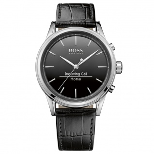 Hugo Boss 1513450 Smart Classic Uhr Herrenuhr Smartwatch Datum schwarz