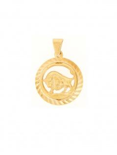 Gerry Eder 24.9021ST Anhänger Stier 14 Karat (585) Gelbgold Gold